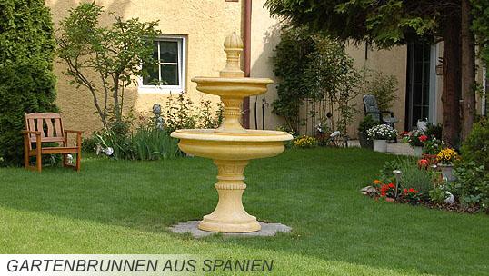 Gartenspringbrunnen - Gartenbrunnen bilder ...